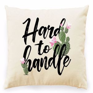 Other - HARD TO HANDLE FLORAL CACTUS GRAPHIC PILLOW COVER